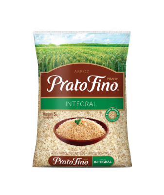 Arroz Prato Fino Integral